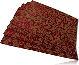 Best gold and red placemats Reviews