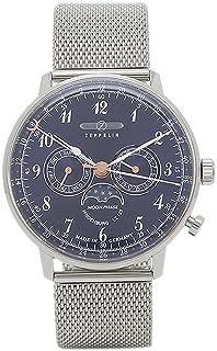 [ツェッペリン] 腕時計 ZEPPELIN 7036M3 ネイビー シルバー [並行輸入品]