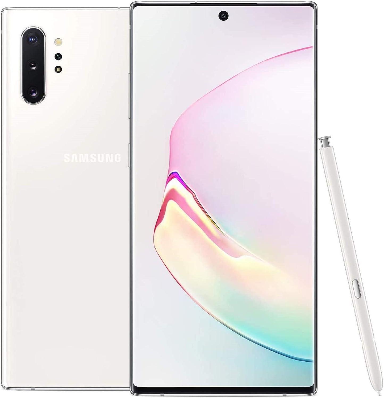 OFFicial shop Samsung Note 10 Plus Verizon Aura White 256GB Renewed Long-awaited
