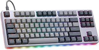 Drop CTRL High-Profile Mechanical Keyboard — Tenkeyless TKL (87 Key) Gaming Keyboard, Hot-Swap Switches, Programmable, Bac...