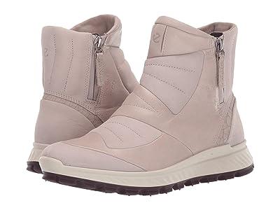 ECCO Sport Exostrike Hydromax(r) Primaloft Zip Boot (Grey Rose/Grey Rose) Women