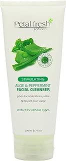 Petal Fresh Aloe and Peppermint Facial Cleanser, 7 Ounce