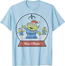 Disney Pixar Toy Story Alien Claw Snowglobe Christmas T-Shirt