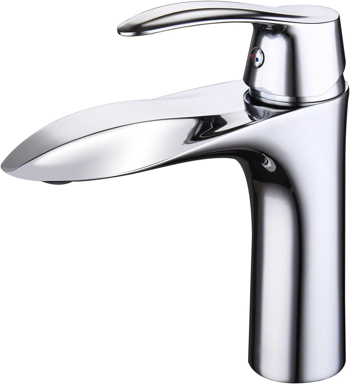 Mangeoo Schwarz wc Wasserhahn, alle Kupfer kalt warmes Wasser mischen mit zwei Waschbecken Armatur, Chrom Farbe