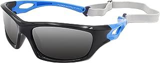 Silica Gel Unbreakable Polarized Sport Sunglasses For Kids Boys Girls Youth