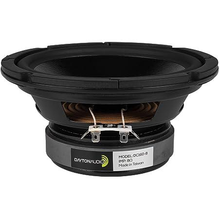 【国内正規品】Dayton Audio DC160-8 クラシックシリーズ スピーカーユニット 16cm ウーファー 8Ω
