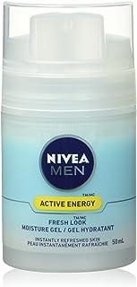 NIVEA MEN Active Energy Fresh Look Moisture Gel, 50 mL dispenser