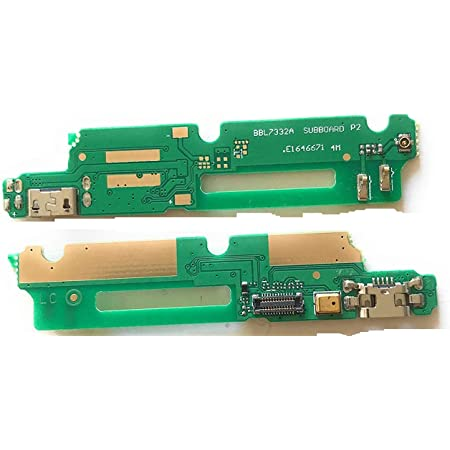 Shinzo USB Charging Board Port Flex Cable Ribbon Jack Connector Compatible for Gionee M5 lite (Green)