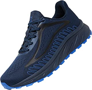 Women Men Running Shoes Breathable Slip On Sneakers Mesh...