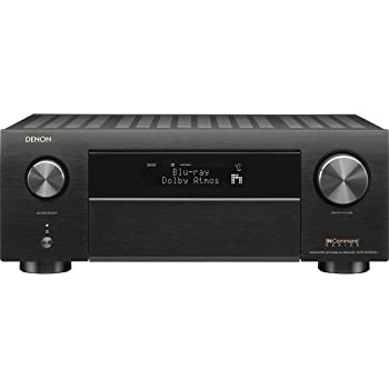 Denon AVR-X4500H Receiver - 8 HDMI In /3 Out, High Power 9.2 Channel Amplifier (125 W/Ch) | Dolby Surround Sound, Music Streaming with Alexa + HEOS