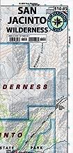 San Jacinto Wilderness trail map (Tom Harrison Maps)