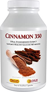 Andrew Lessman Cinnamon 350 - 30 Capsules – High Potency, Standardized Extract. Supports Healthy Blood Suga...