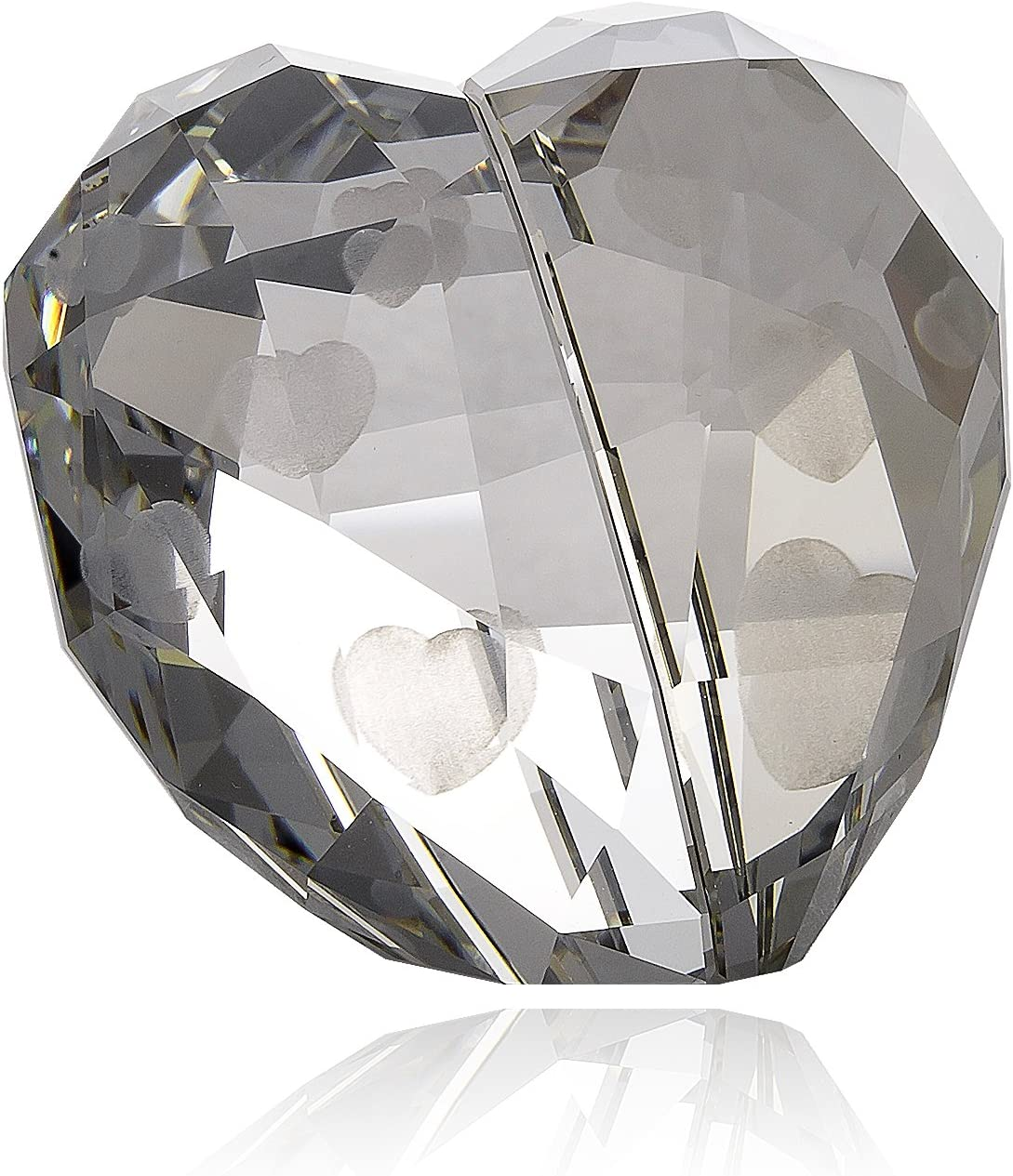 Swarovski Love Heart Crystal Silver D Medium Special price for a limited time Shade Collectible Regular dealer