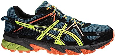Asics Gel Kanaku 2 Outdoor running shoes blue / black / colored ...
