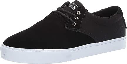 Lakai Footwear Daly Black Suedesize Tennis Shoe