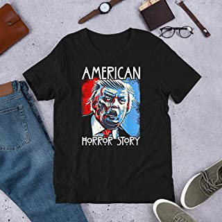 Funny Donald Trump American Horror Story Shirt, Halloween Shirt, Dad Gift, Trump Zombie, Gift For Dad, Mom Gift T Shirt For Unisex