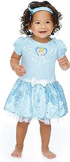 Princess Baby Girls Costume Bodysuit Dress & Headband Set