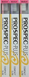 GC プロスペック 歯ブラシプラス コンパクトスリム M (3本セット)