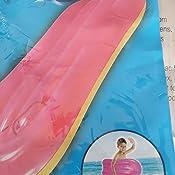 30 in Kids Spring Summer SET OF 2 Fun Backyard Float Outdoor Playtime Pool Lake Beach Swim Rings Kickboard Green Blue