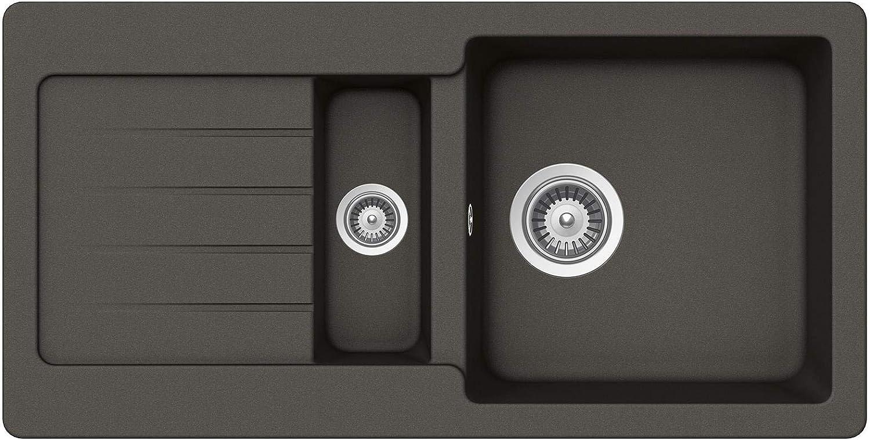 Schock Typos D-150S A Asphalt - TYPD150SAGAS Granitspüle Küchen-Spüle Spültisch