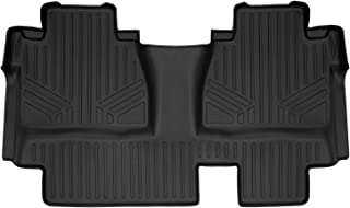 MAXLINER Floor Mats 2nd Row Liner Black for 2014-2018 Toyota Tundra Double Cab (Coverage Under 2nd Row Seat)