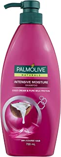 Palmolive Naturals Hair Shampoo Intensive Moisture Coco Cream and Pure Milk Protein for Dry/Coarse Hair, 700mL