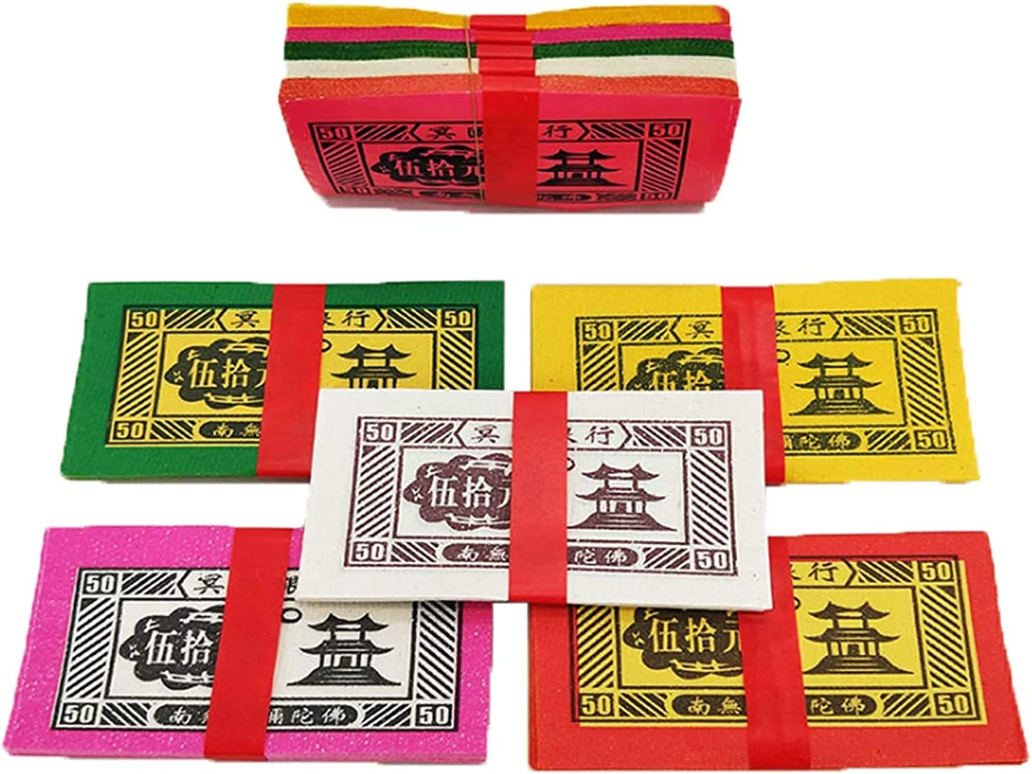 ZHANGQQ In stock Ancestor Money Chinese offerings Patriarch Bu Ranking TOP7 Five-Color