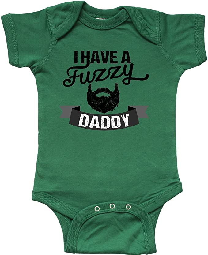 Future Beard Man Creeper Bodysuit Baby Shower Gift Funny Geek Nerd Cute Fun Birthday Mustache Beard
