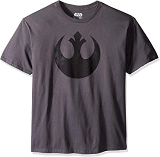 STAR WARS Men's Rebel Alliance Logo Emblem T-Shirt
