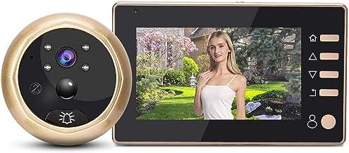 """Deurbellen 4.3 """"Camera Deurbel Bewegingsdetectie Schieten Opname Display Video Kiekgaatje Viewer A"""