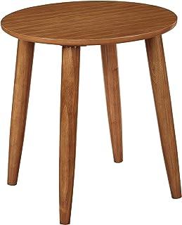 Boraam Zebra Series Varberg Side Table, Honey Oak