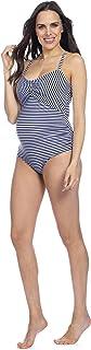 Seraphine Women's Nautical Cutout Maternity Swimsuit