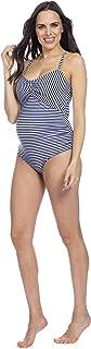 Women's Nautical Cutout Maternity Swimsuit