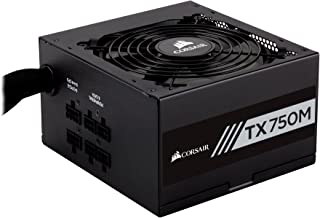 Corsair TXM Series, TX750M, 750 Watt, 80+ Gold Certified, Semi Modular Power Supply