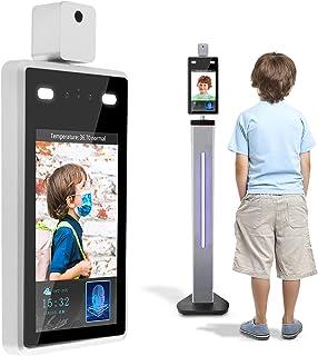 Anpviz Face Recognition Body Temperature Measure Camera System, Non-Contact 8 inch Infrared Body Temperature Detection Sca...