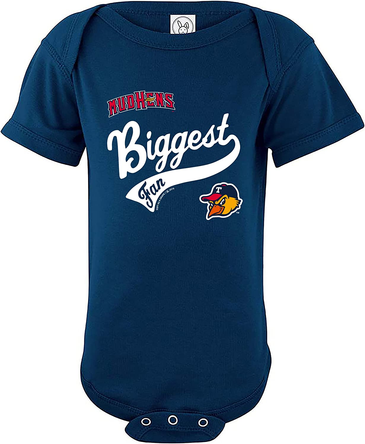 Minor League Baseball Mud Hens Boys Infant Creeper, 6 Months