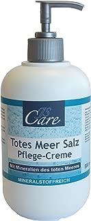 Heim & Büro Totes Meer Salz | Pflegecreme | 500 ml | im Spender | Hautpflege | Schutz | Salbe