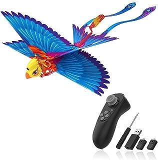 HANVON Go Go Bird Flying Toy,Mini RC Flying Bird Helicopters,Bionic Flying Bird,Mini Drone-Tech Toy,Remote Control Flying ...