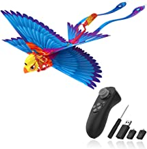 HANVON Go Go Bird Flying Toy,Mini RC Flying Bird Helicopters,Bionic Flying Bird,Mini Drone-Tech Toy,Remote Control Flying ...