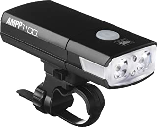 CAT EYE - AMPP1100 Rechargeable Bike Headlight, High Power LEDs, 1100 Lumens, with Micro USB Cable