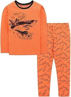 DAUGHTER QUEEN Pyjama jongens lange mouwen tweedelige katoenen nachtkleding winter pyjama's