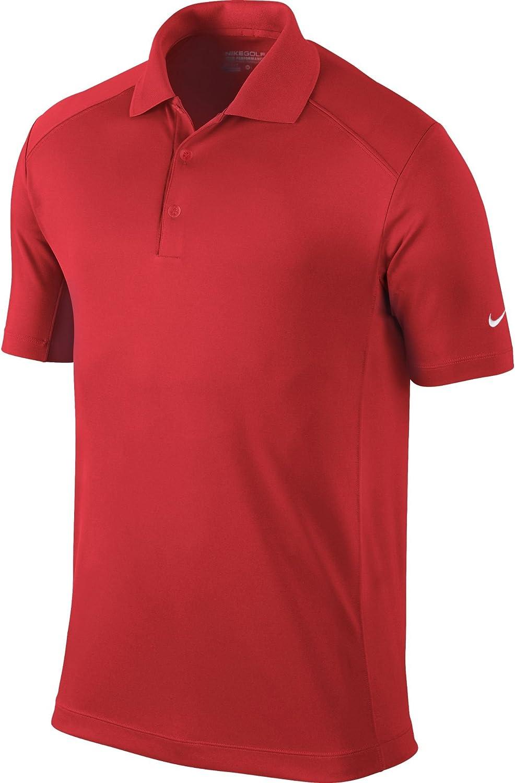 Nike Men's Victory Polo, Light Crimson, S