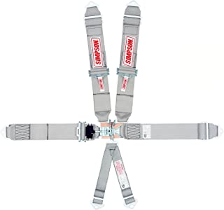Simpson Racing 29057SP Platinum Series Latch and Link Pull-Up-Bolt-in 6-Point Harness System