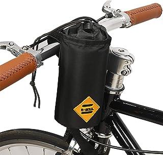 JUNPENG Bike Water Bottle Holder Insulated Stem Bag Frame & Handlebar Attachment Cup Holder Bicycle Water Bottle Drink Hol...