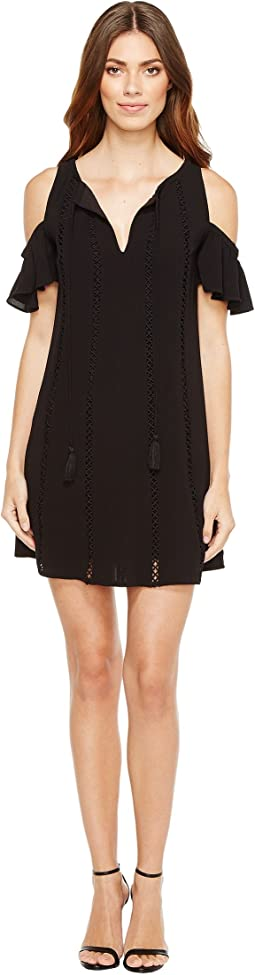 Jessica Simpson Cold Shoulder Dress w/ Ties