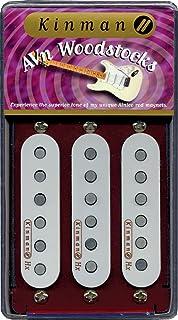 kinman wdstck + Set Pickup Woodstock Plus Set (3), conjunto de micros para guitarra eléctrica
