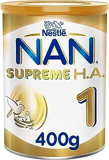 Nestle NAN SUPREME H.A. Stage 1, Birth to 6 months, Hypoallergenic Starter Infant Formula, 400g