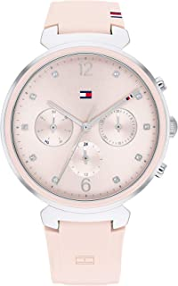 TOMMY HILFIGER IVY WOMEN's PINK DIAL WATCH - 1782343