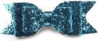 1PC Hair Clip Women Girl Big Glitter Bow Kids Hairpins Children Accessories Headwear