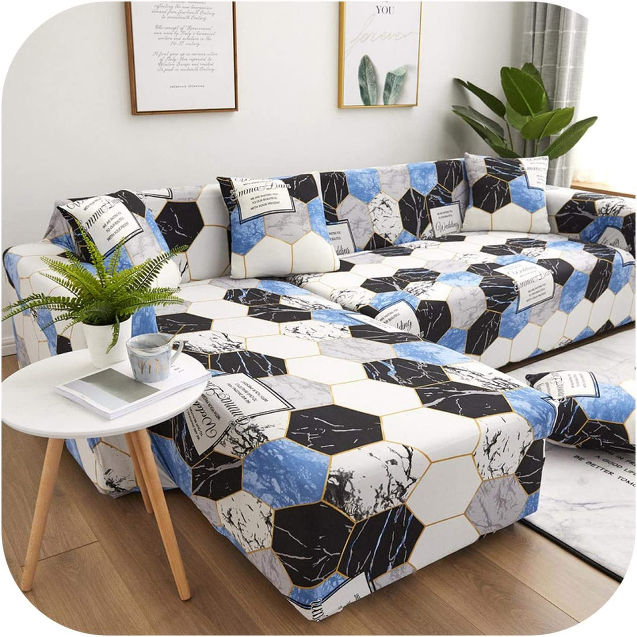 L-Shaped Living Price reduction Room Sofa Elastic online shop Furniture Cover Sof